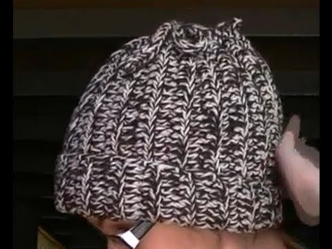 Crochet Beanie. Hat and Neck Warmer in 1 - Part 2 of 3 Tutorial