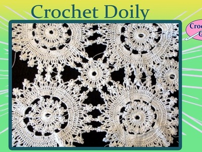 Crochet Geek Doily Lace