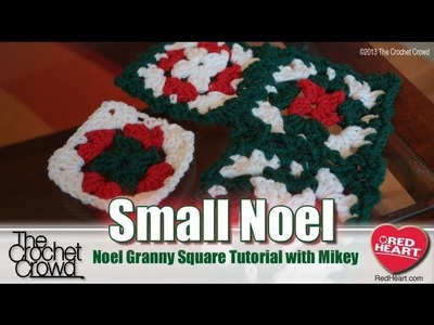 Crochet Small Noel Granny Squares