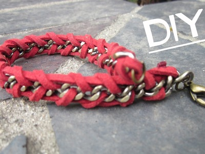 DIY: Chain Wrap Bracelet