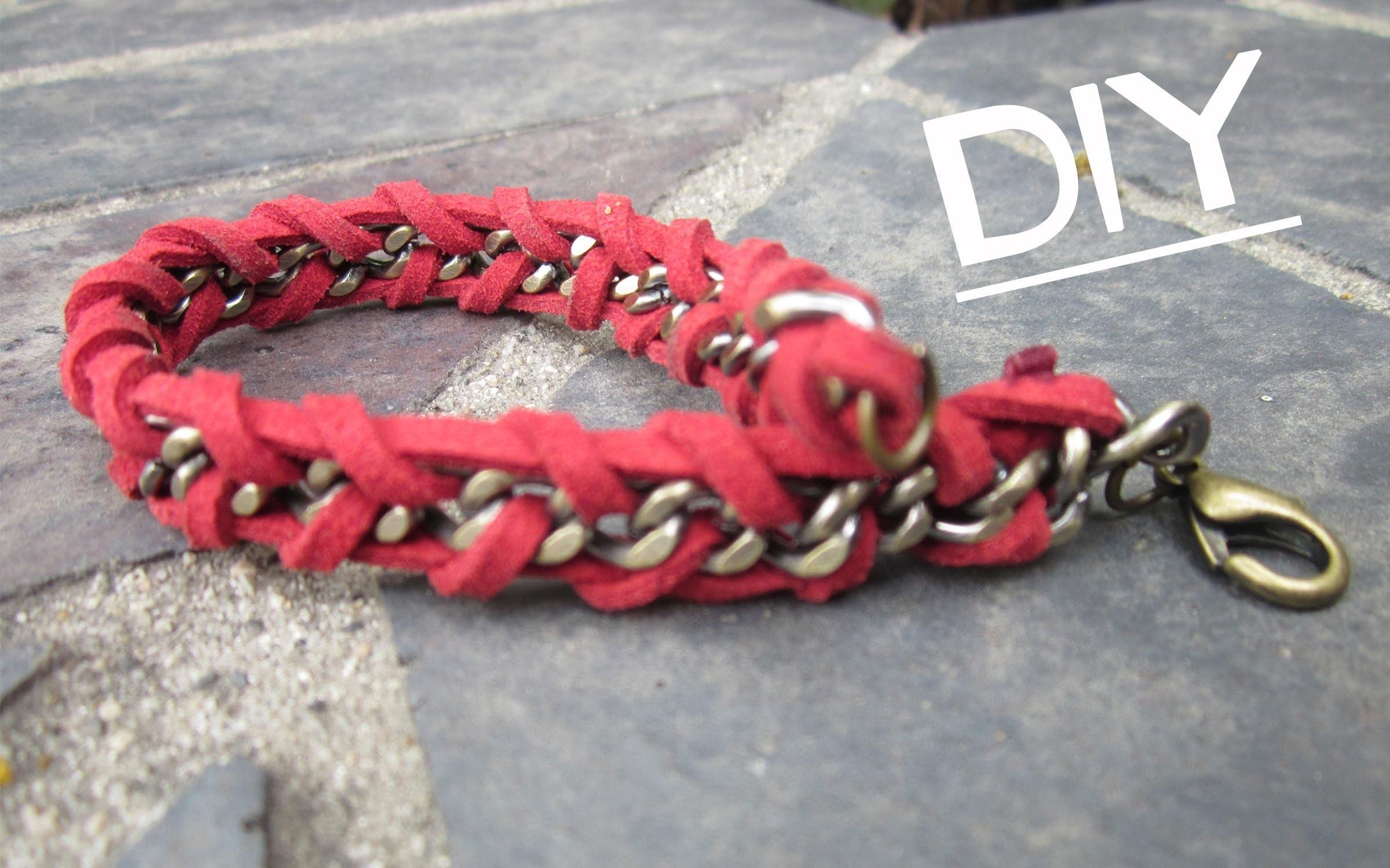 DIY: Chain Wrap Bracelet