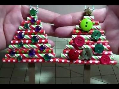 DIY~Cute & Festive Paper Straw Ornaments! Nice Money Holder Too!