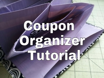 DIY- Duct Tape Coupon Organizer Tutorial!!!