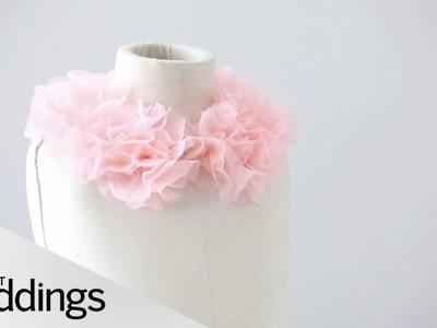 DIY Floral Collar  - Martha Stewart Weddings