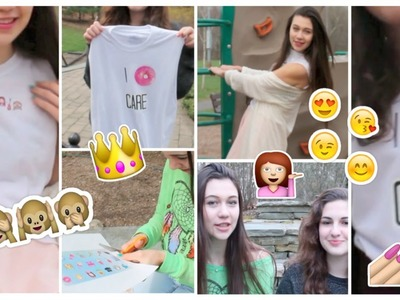 DIY Freshtops Inspired Crop Tops: Emojis and More!