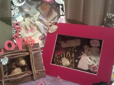 DIY:Make a shadow box from a cardboard box