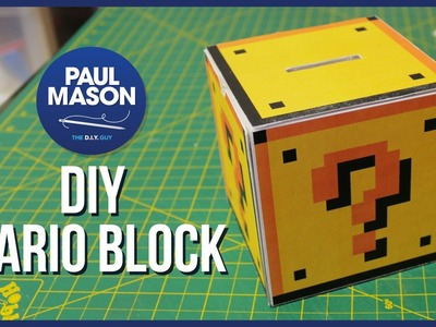 DIY Mario Question Mark Block