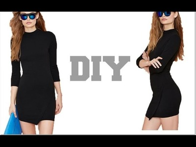 DIY. NastyGal Asymmetrical Dress (Easy Sewing)