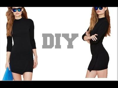 DIY. NastyGal Asymmetrical Dress (Easy Sewing)