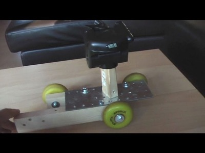 DIY Skater Camera Dolly Testvideo - WIP