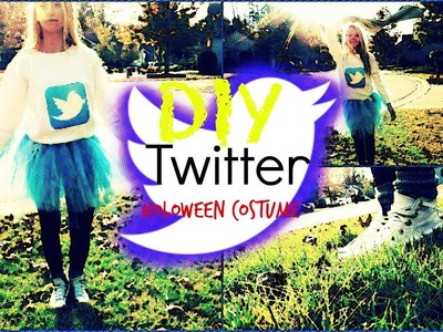 DIY | Twitter Halloween Costume 2014