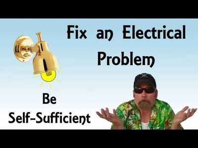 Do It Yourself DIY Fixing Electrical Problem On a Sailboat - Pirate Lifestyle TV ™ Episode 002