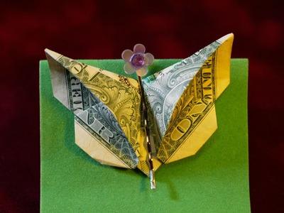 Dollar Origami: Elegant Butterfly