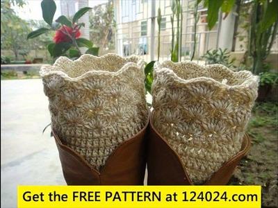 Easy crochet leg warmers patterns
