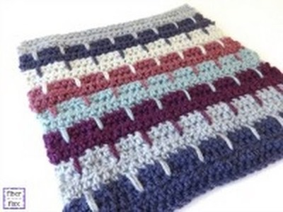 Episode 136: How To Crochet The Spiked Stripes Square