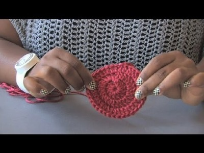 Formula to Make a Flat Circle in Double Crochet : Crochet Projects