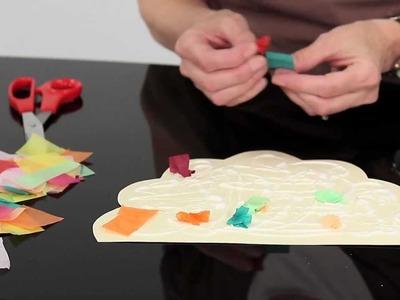 Free Preschool Craft Activity - Autumn Bush