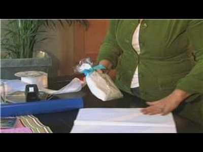 Gift Baskets : How to Gift Wrap a CD