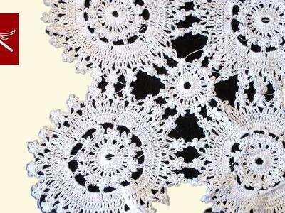 Hand Crochet Doily Tranquility - Crochet Geek