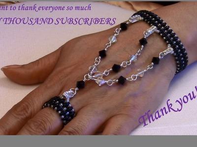 Handmade Jewelry: Falling Tears Bracelet