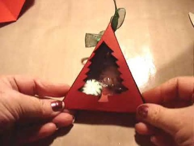 Holiday Candy Holder Craft Project