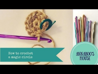 How to crochet a magic circle