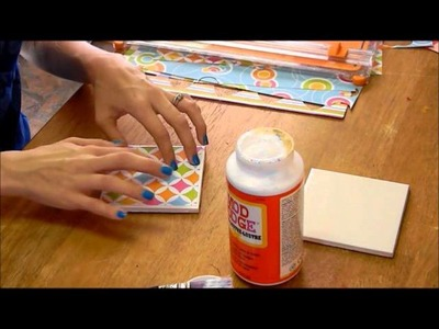 HOW TO: DIY Tile Coasters