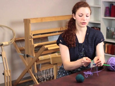 How to Knit Striped Scarves : Knitting Help
