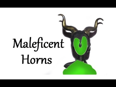 How to make Maleficent Horns for Dolls Tutorial
