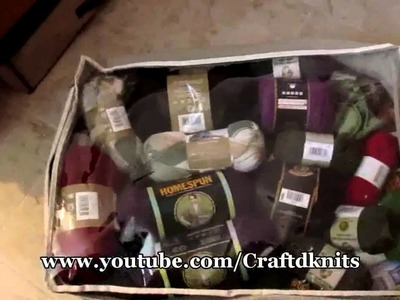 Knit 'N Chat: How I Store My Stash