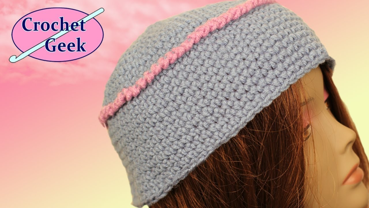 Kufi Box Cap Crochet Geek How To Crochet Geek