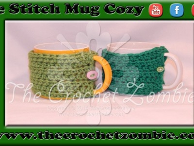One Stitch Mug Cozy from Lion Brand