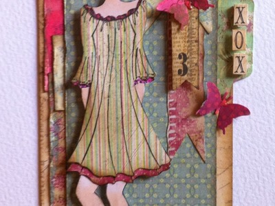 Prima Doll Tag a Design Team Project for Ali Craft