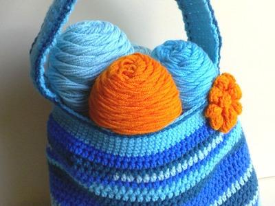 Scrap-Tastic Bag Part 2 of 2 Crochet Tutorial