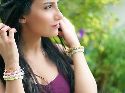 Summer Arm Candy | Fun-to-Make Bracelets DIY