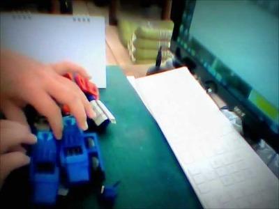 Transformer : Optimus Prime Papercraft.