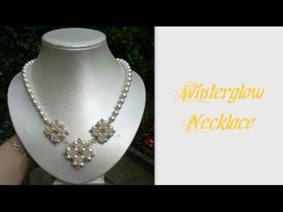 Winterglow Necklace Beading Tutorial by HoneyBeads1