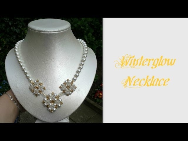 Winterglow Necklace Beading Tutorial by HoneyBeads1