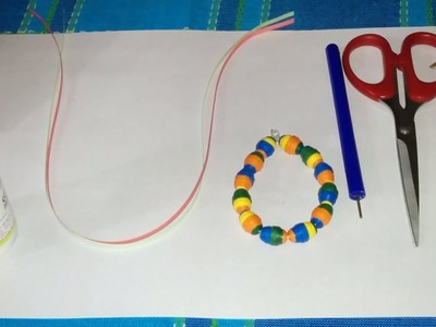 27. How to make 3D Quilling Paper Bead
