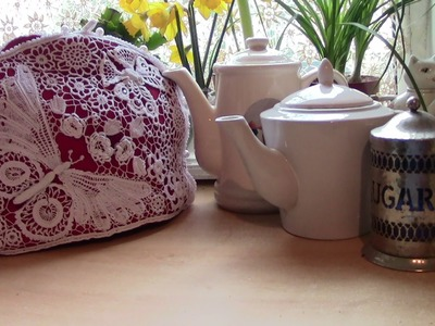 A Teacosy in Irish Crochet Lace, how to