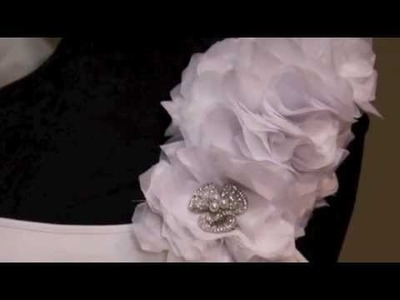 {CAMRYN} How to make a fabric flower for your Wedding Gown