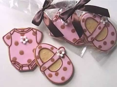 DIY Baby shower cookies decorating ideas