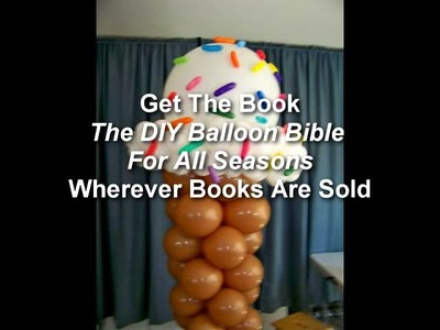 DIY Balloon Bible For All Seasons Book Promo