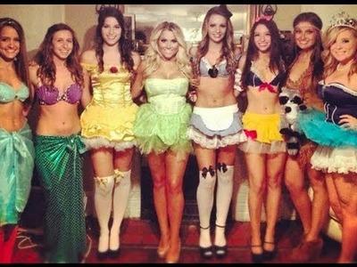 DIY disney princess costumes