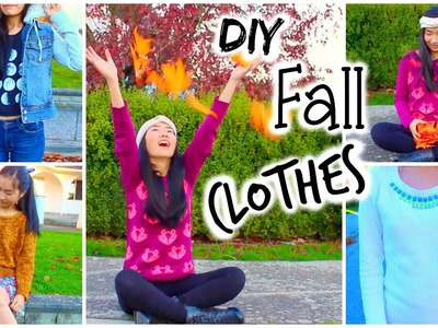 DIY Easy Tumblr Clothes - Brandy Melville, Urban Outfitters, American Apparel