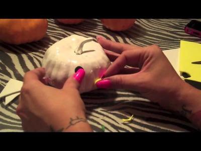 Diy hello kitty pumpkin