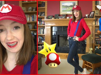 DIY: Mario Halloween Costume: Cheap and Easy! | babymad74