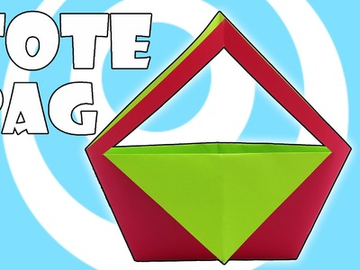 DIY: Paper Origami Tote Bag Instructions