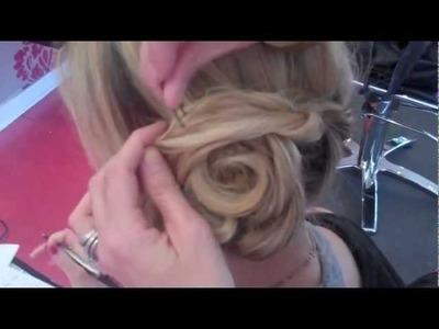 DIY Rosette Bun with Sine Qua Non Salon