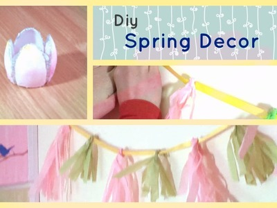 Diy Spring Decor ~ Cute Spring Projects